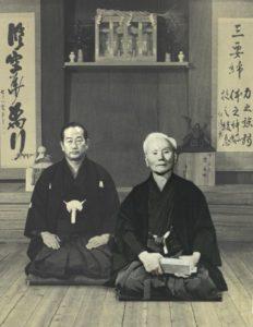 Sensei's Funakoshi and Nakayama