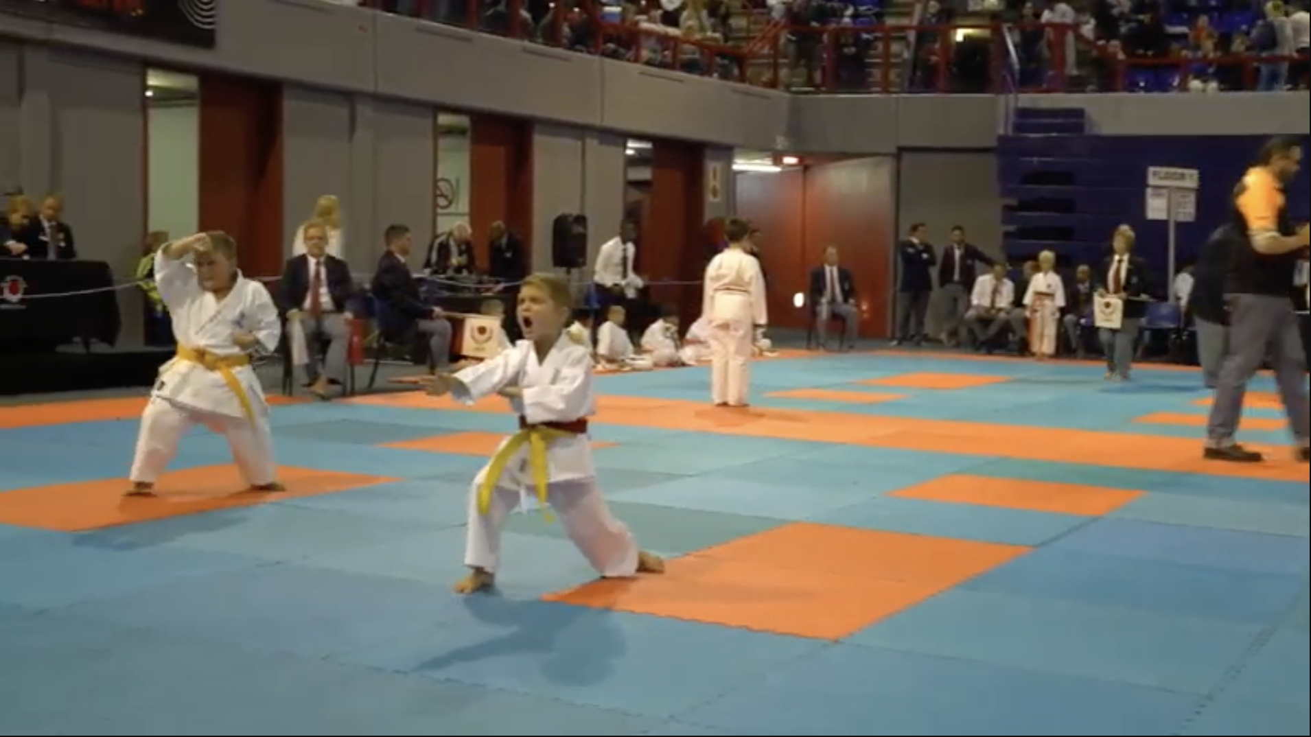 SA JKA National Championships 2019 – Yellow Belt Kata